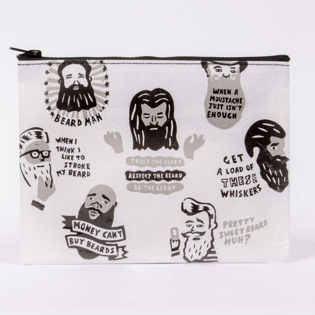 Beard It Zipper Pouch