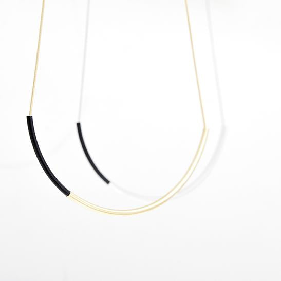 Dual Arc Necklace