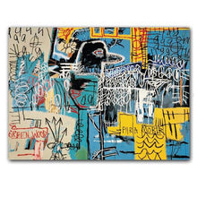 Load image into Gallery viewer, basquiat boxed cards, art cards, basquiat notecards, fliptop notecard box