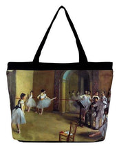 Load image into Gallery viewer, Degas Ballerinas Tote Bag