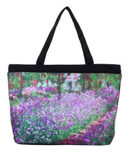Load image into Gallery viewer, Monet's Garden Tote Bag