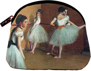 degas cosmetics bag, ballet lesson, galleria