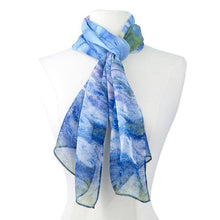 Load image into Gallery viewer, Monet Waterlilies Scarf