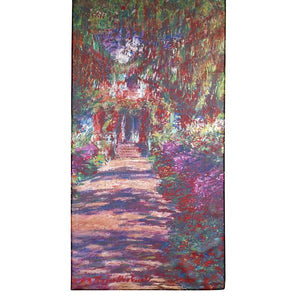 Monet's A Pathway Scarf
