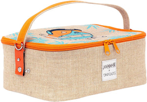 Surf's Up Lunch Box NAVY Trim