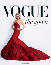 Load image into Gallery viewer, vogue the gown, vogue book, red gown