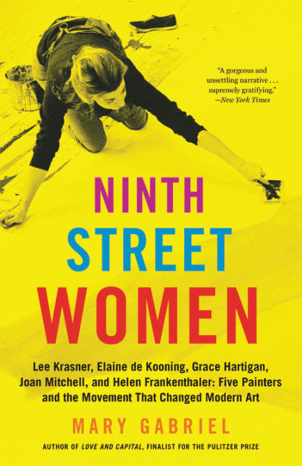 Ninth street women book, women artists book, Mary Gabriel book, AGH bookclub