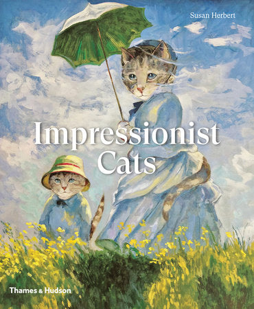 Impressionist Cats, cat book, cat art book,
