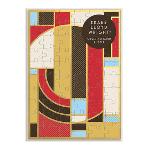 Frank Lloyd Wright Greeting Card Puzzle