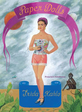 Load image into Gallery viewer, Frida Kahlo Paper Dolls