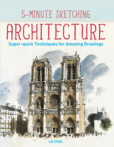 5-minute sketching book, Architechture, Sketching Techniques