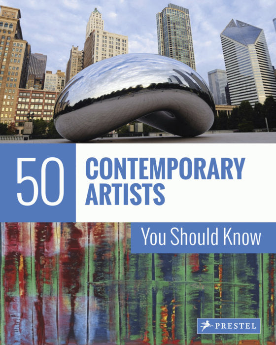 50 Contemporary Artist book, painters and architects,Prestel books,