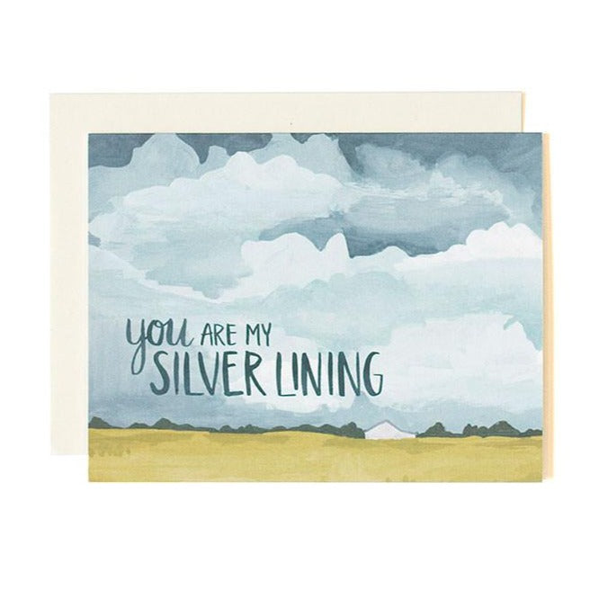 Silver Lining Card