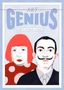 Genius Artist Playing Cards