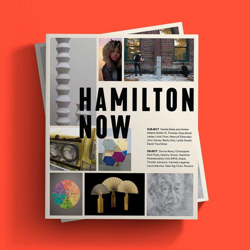 Hamilton now catagloue, agh catalogue, hamilton artists book