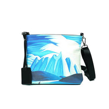 Load image into Gallery viewer, Lake and Mountains Crossbody Bag