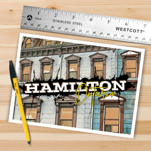 Hamilton Window Postcard