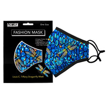 Load image into Gallery viewer, Louise C. Tiffany Dragonfly Mask