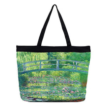 Load image into Gallery viewer, Japanese Bridge Tote Bag