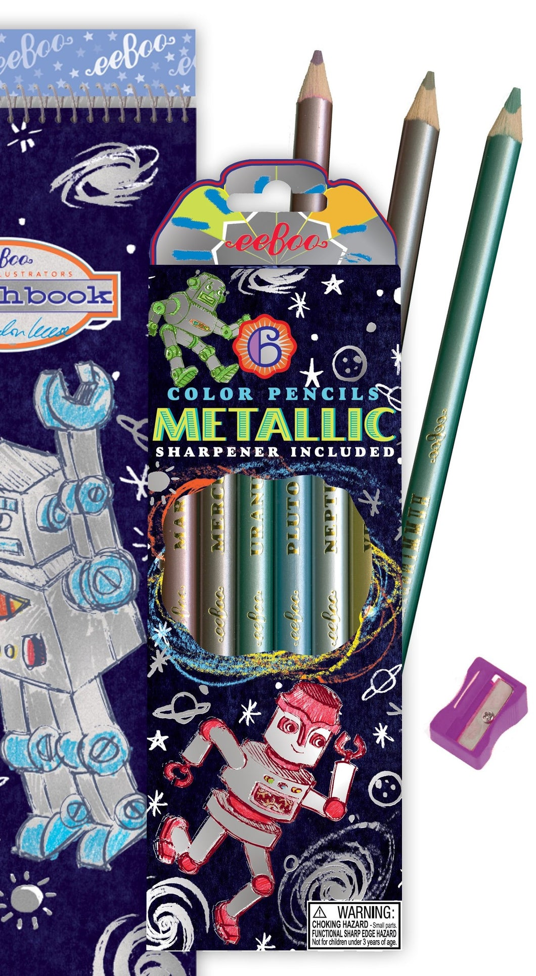 Metallic Colour Pencils