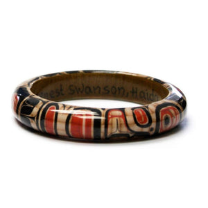 Elements of Tradition Wood Bangle