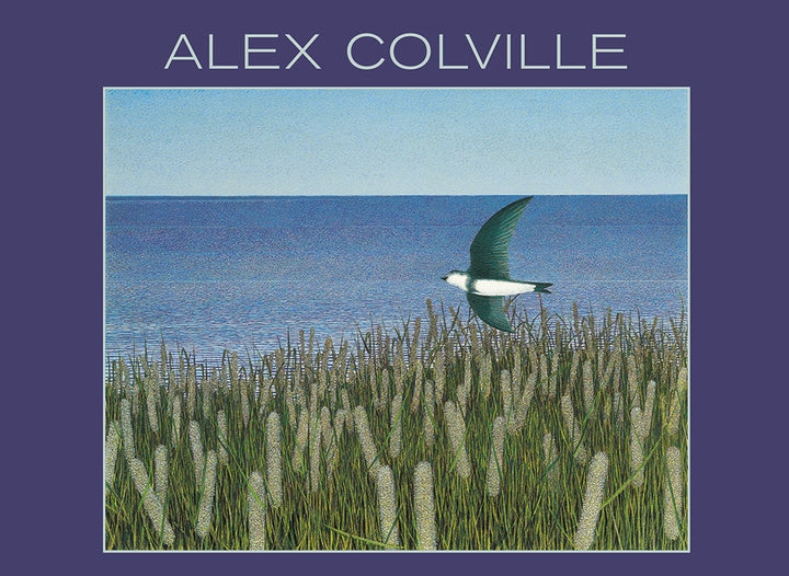 Alex Colville , box card set, landscape, birds, art cards