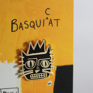 Basquicat Pin