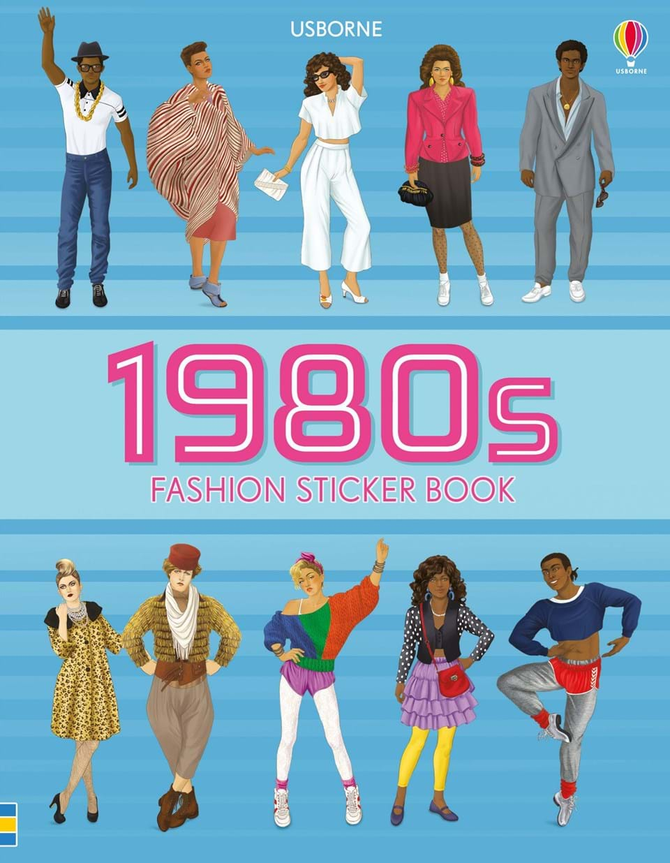 retro, fashion, sticker book, fashio sticker book, shoulder pads, 1980