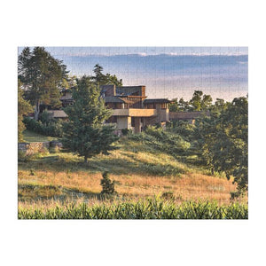 Frank Lloyd Taliesin Double-Sided Puzzle