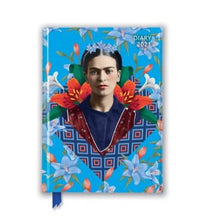 Load image into Gallery viewer, Frida Kahlo Blue Pocket 2021 Diary