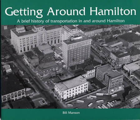Getting around Hamilton Book by Bill Manson, Getting around Hamilton, Bill Manson