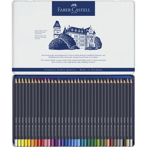 36 Goldfaber Colour Pencil Crayons