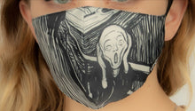 Load image into Gallery viewer, EDVARD MUNCH Scream Mask