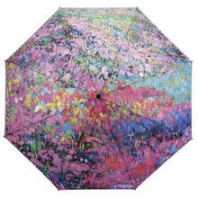 Load image into Gallery viewer, Monet's Garden Symphony Umbrella