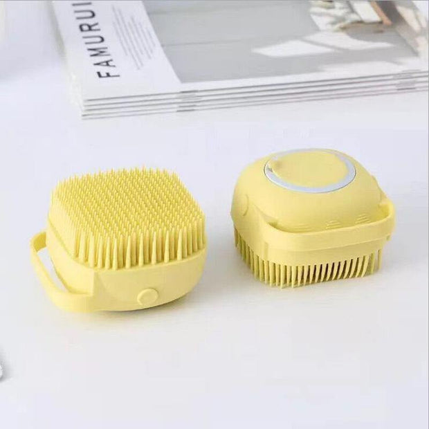 Soft Silicone Dog Bath Shampoo Brush - Pawgood