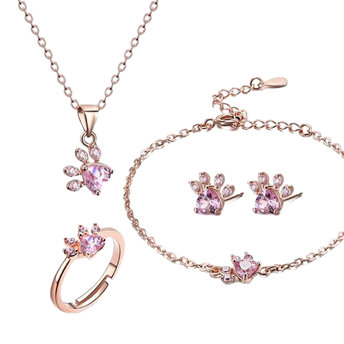 Pawgood Footprint Jewelry Set - Pawgood