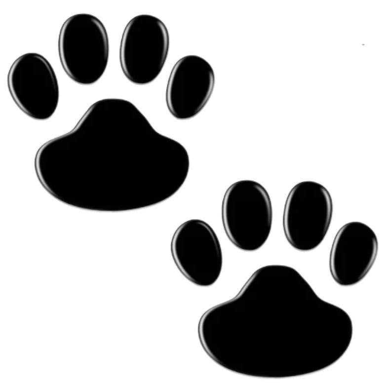 Dog Paw Footprint Car Sticker - Pawgood