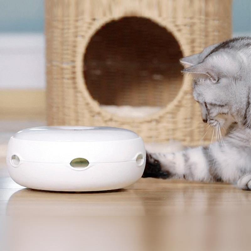 "Smart Interactive ""UFO"" Cat Toy - Pawgood"
