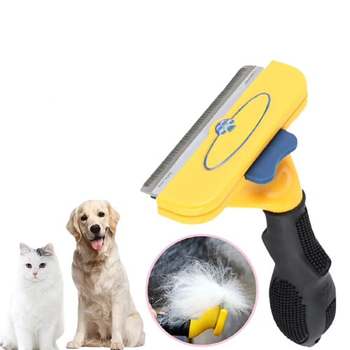 Comfortable Dog Hair Removal Comb - Pawgood
