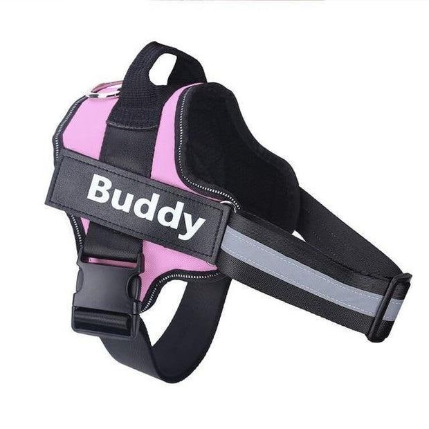 Personalized Reflective No Pull Dog Harness - Pawgood