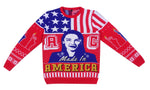 AOC: Alexandria Ocasio-Cortez Knitted Christmas Jumper