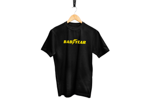 Bad Year Black Print | Large Logo