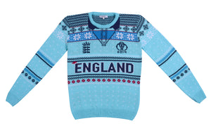 Barmy: England Cricket Knitted Christmas Jumper