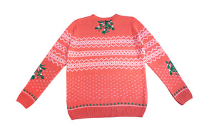 One Kiss is All: Knitted Christmas Jumper
