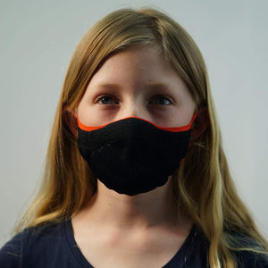 Face Mask: Black (kids)