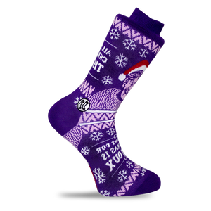 Theroux Christmas socks