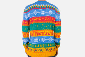 Lishy Mariusgenser: Knitted Christmas Jumper