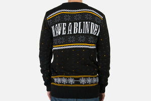 Blinding Christmas: Peaky Knitted Christmas Jumper
