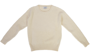 Women's Merino Wool Moss Stitch Jumper