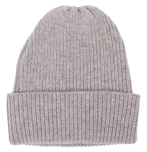 Light Grey Knitted Beanie
